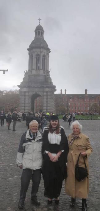 Grandparents at grad
