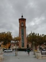 Tower in Plaza de Cervantes